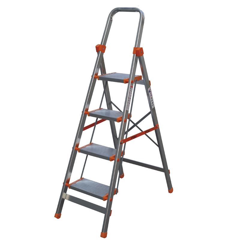 铝合金宽踏板家用梯